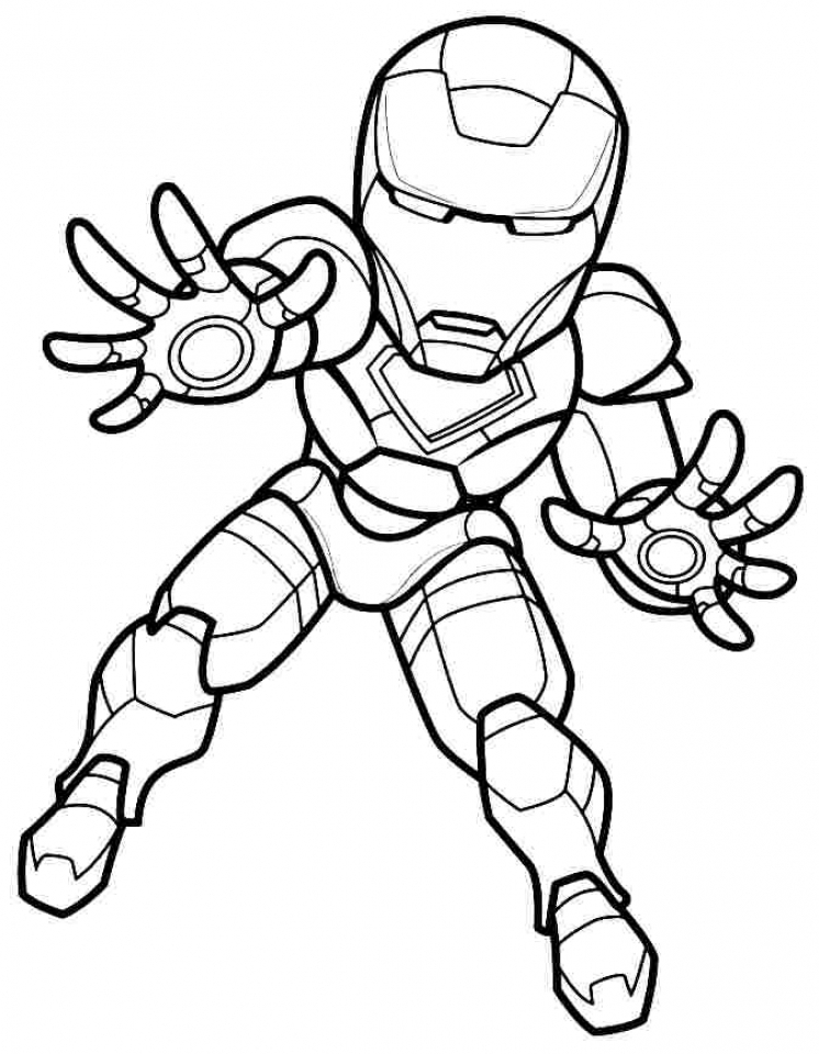 Get This Printable Ironman Coloring Pages Online 91060
