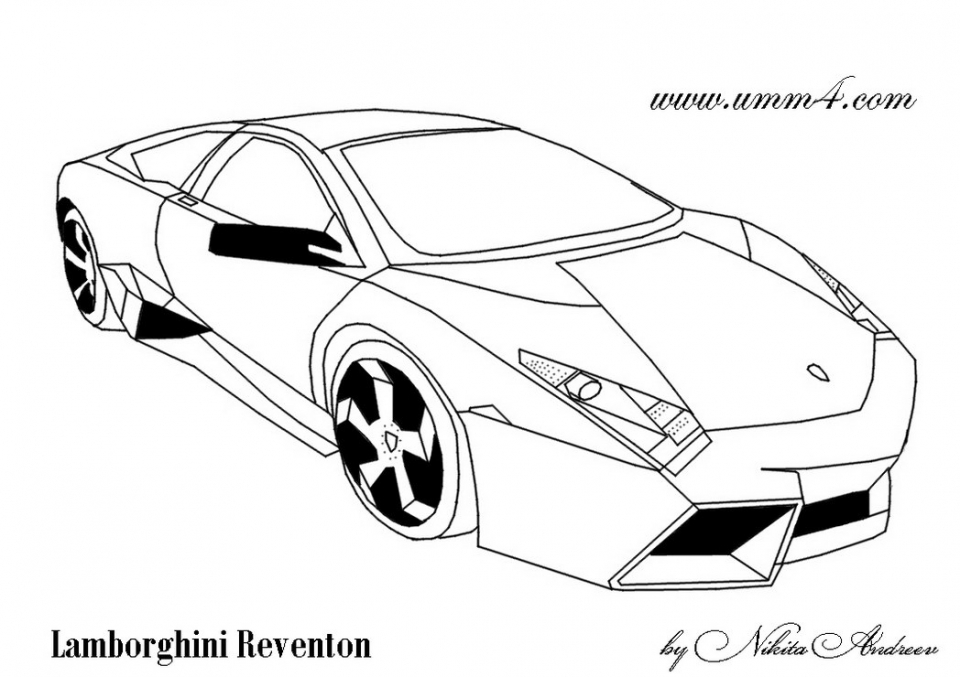 get this printable lamborghini coloring pages online 91060