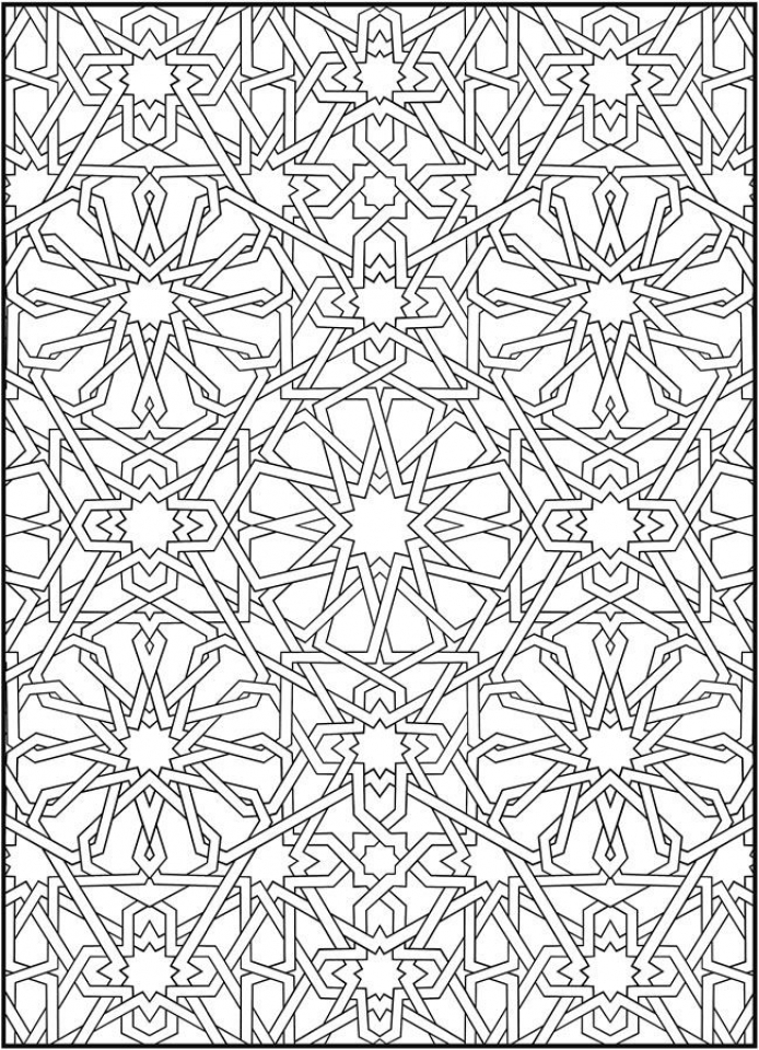 printable mosaic coloring pages 87126 - Mosaic Coloring Pages