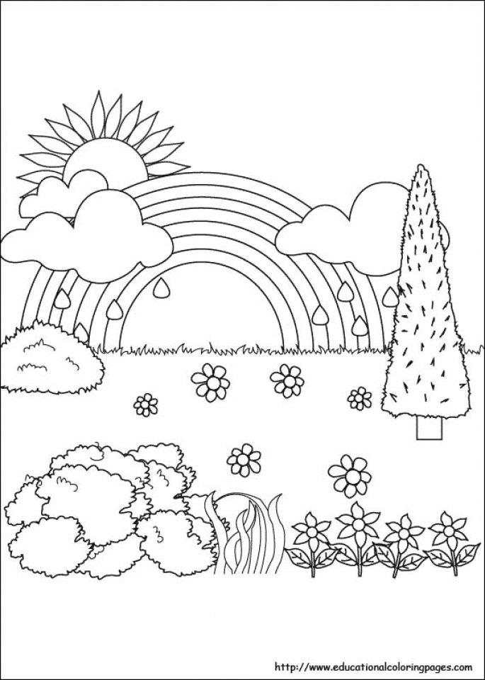 Get This Printable Nature Coloring Pages for Kids 5prtr !