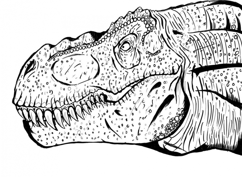 Get This Printable T Rex Coloring Pages 29255