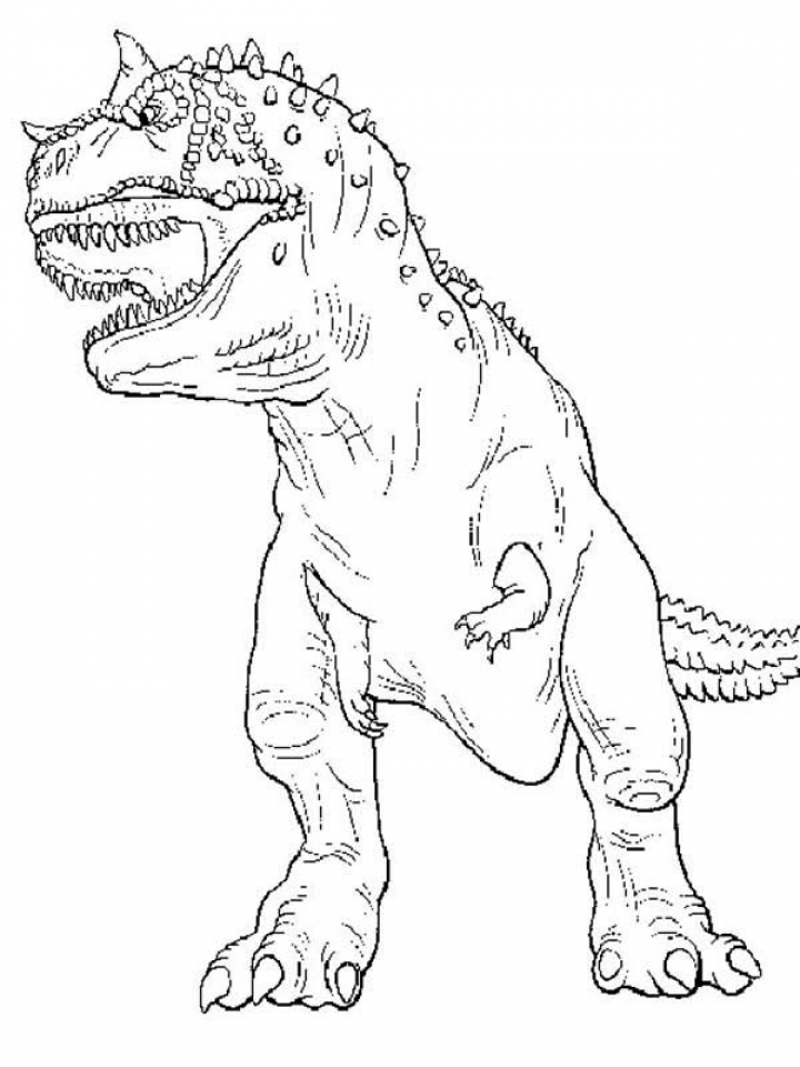 Get This Printable T Rex Coloring Pages Online 85256
