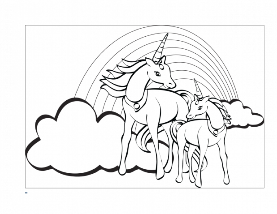 printable unicorn coloring pages online 59307 - Coloring Pages Unicorns Printable