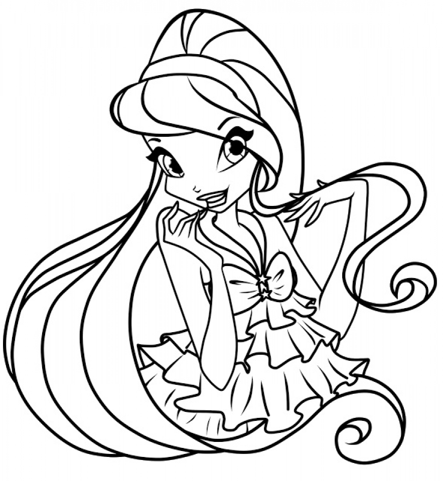 Get This Printable Winx Club Coloring Pages for Kids 5prtr !