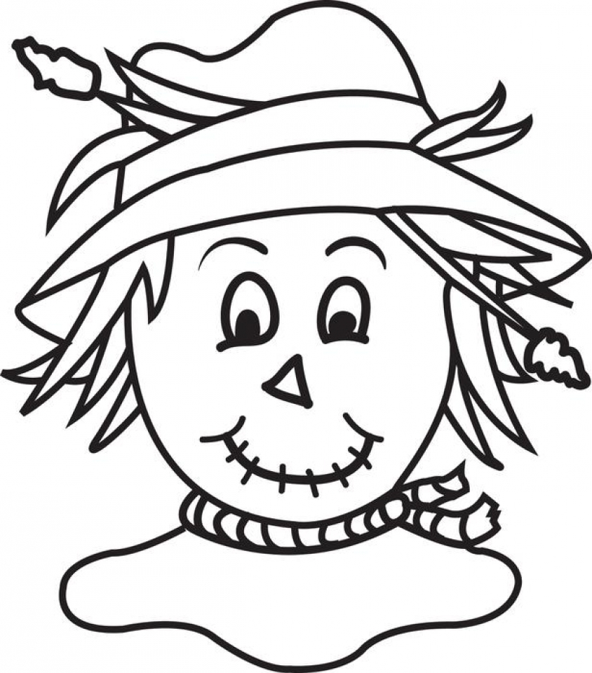 get this scarecrow coloring pages free to print ju7zm