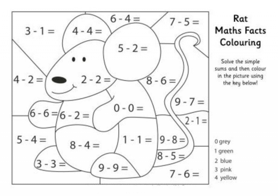 get this simple math coloring pages to print for preschoolers cdsxi. Black Bedroom Furniture Sets. Home Design Ideas