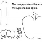 The Very Hungry Caterpillar Coloring Pages Free for Kids - 11759
