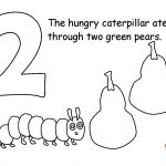 The Very Hungry Caterpillar Coloring Pages Free for Kids - 21845