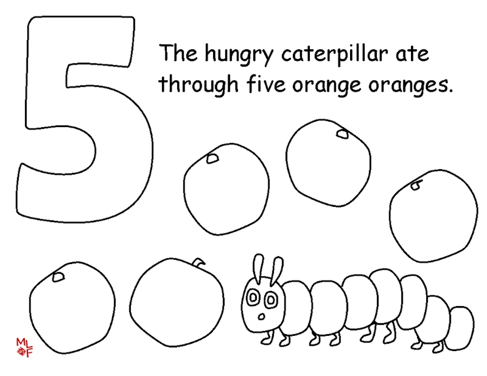 the very hungry caterpillar sequencing pdf
