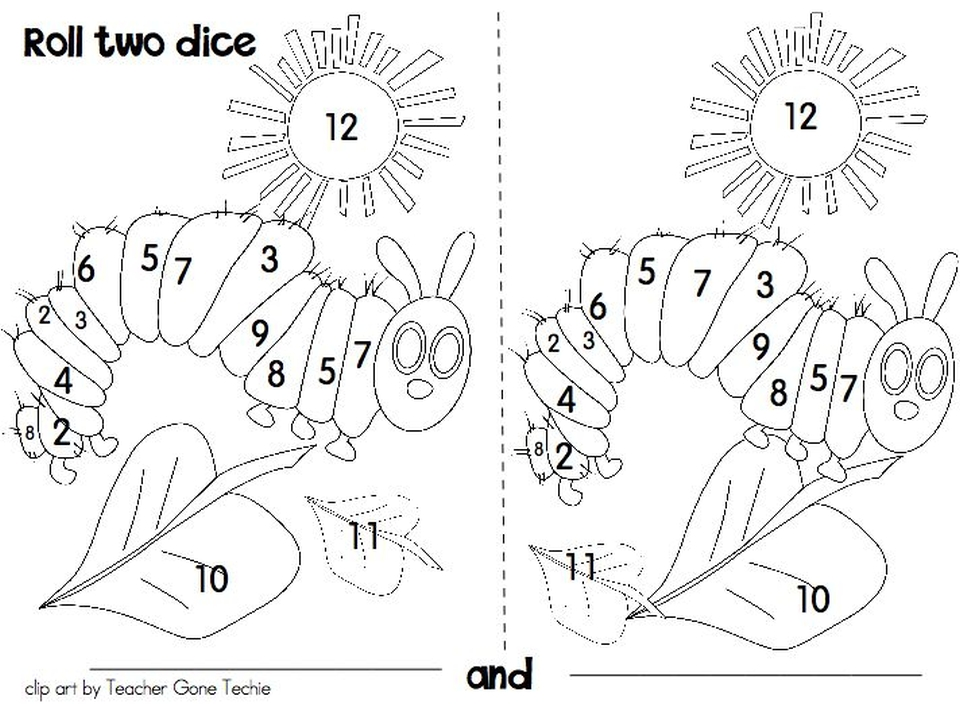 Get This The Very Hungry Caterpillar Coloring Pages Free for Kids ...
