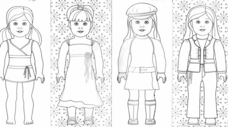 Get This American Girl Coloring Pages Free Printable q8ix13 !