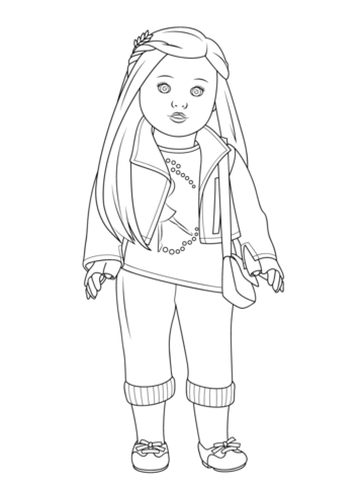 More Inside Out Coloring Pages American Girl Free Printable U043e