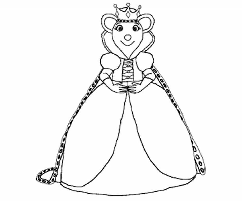 Get This Angelina Ballerina Coloring Pages Free Printable 434403