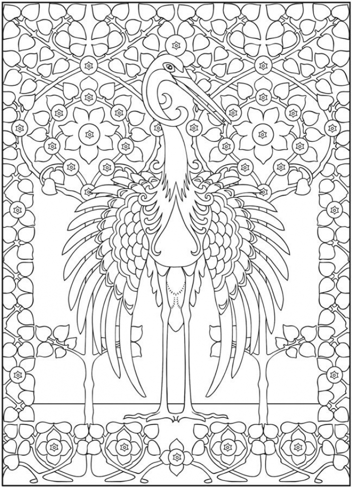 Get this art deco patterns coloring pages for adults to for Free art deco coloring pages