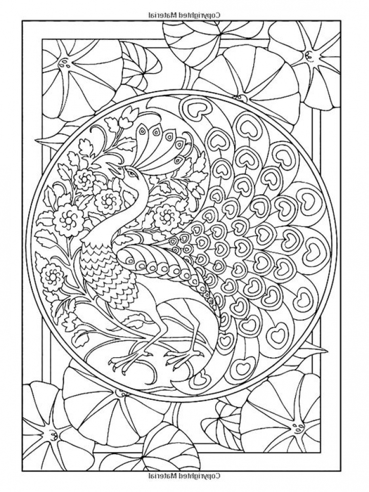 Get This Art Deco Patterns Coloring Pages for Grown Ups ...
