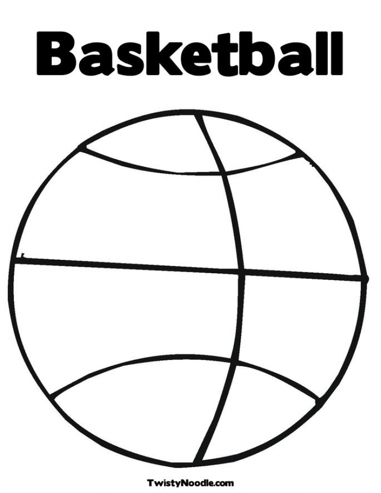 picture relating to Printable Basketball Coloring Pages identify Acquire This Basketball Coloring Web pages Absolutely free Printable 679162 !