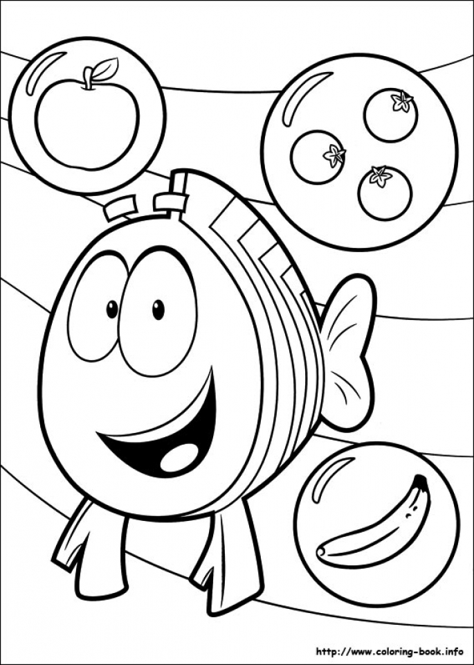 Bubble Guppies Coloring Pages Free Printable 772659