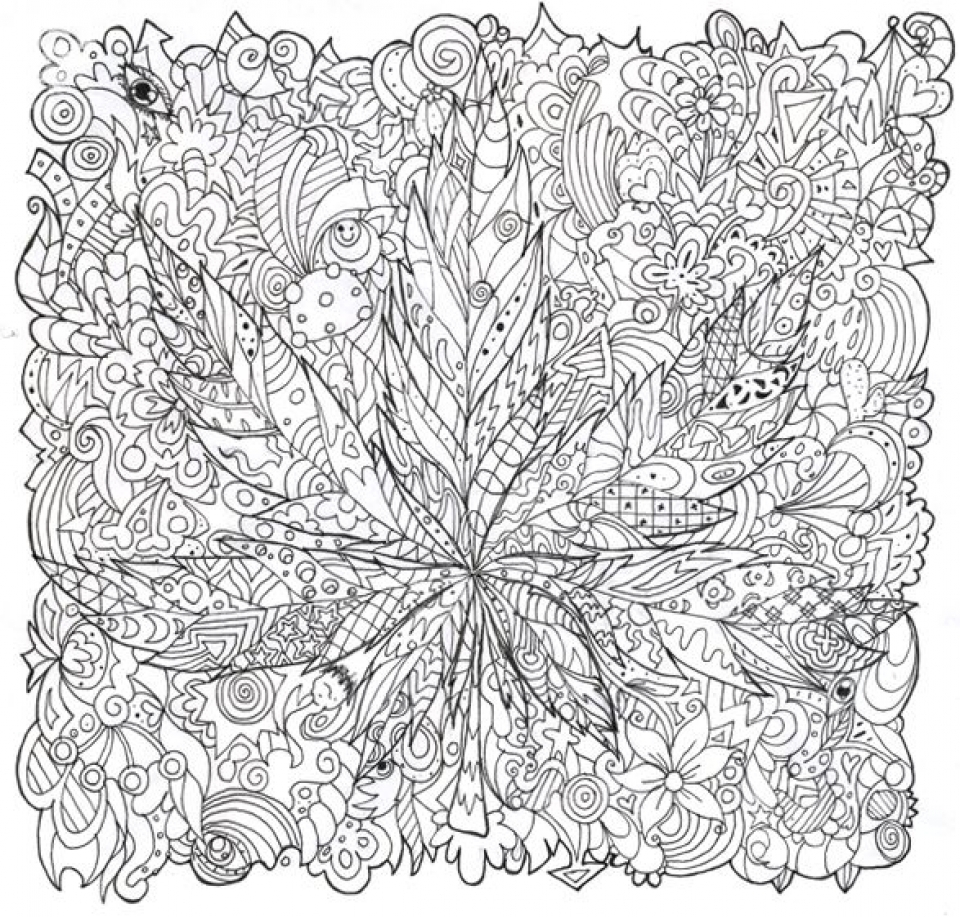 Get this challenging trippy coloring pages for adults o3ba7 for Printable psychedelic coloring pages