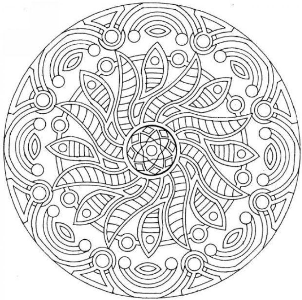 Get This Complex Coloring Pages For Adults 52nc6