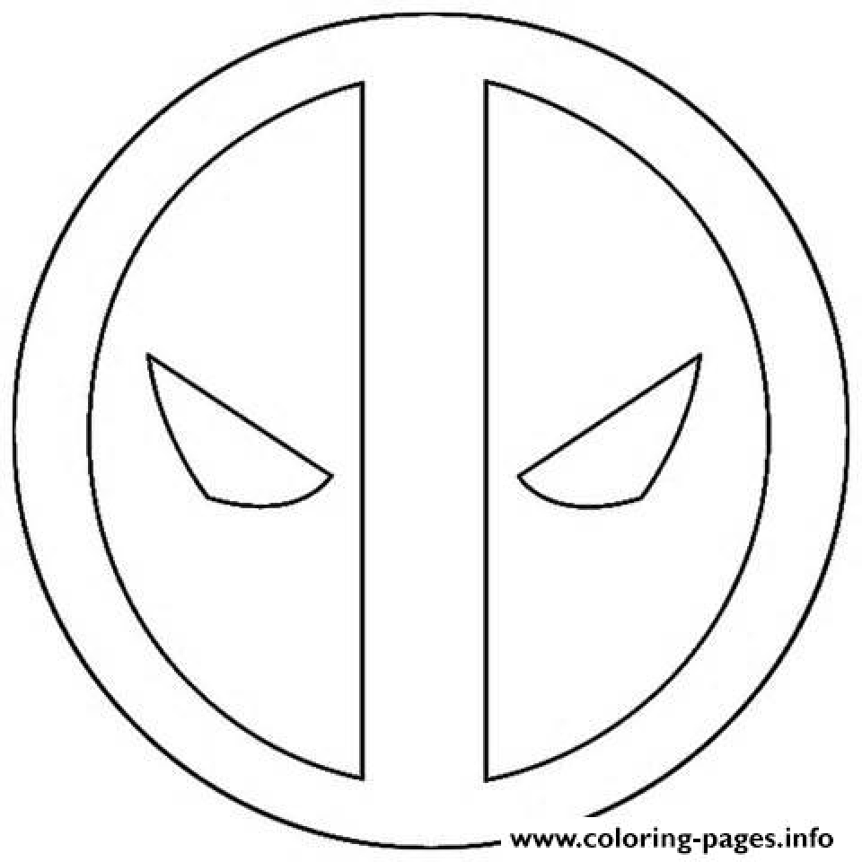 Get This Deadpool Coloring Pages Free Printable 253839