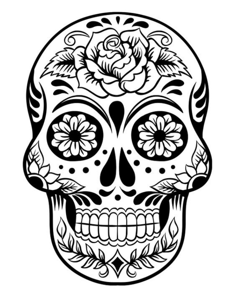 Get This Dia De Los Muertos Coloring Pages Free Printable q8ix6 !