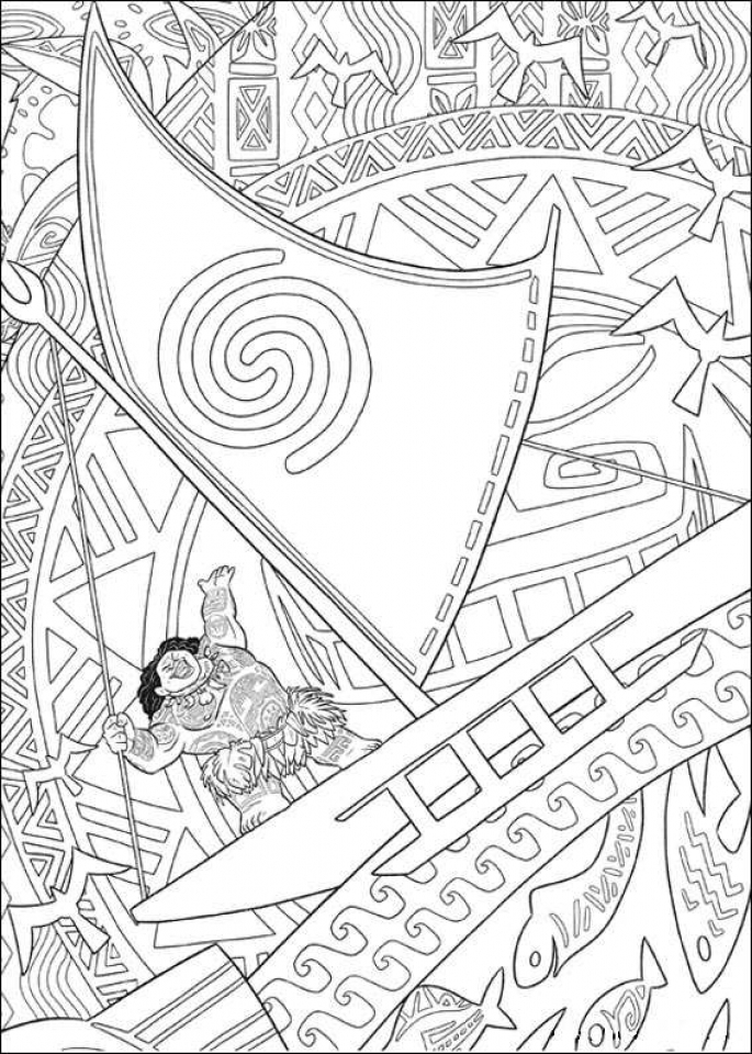 Get This Disney Princess Moana Coloring Pages To Print AF796