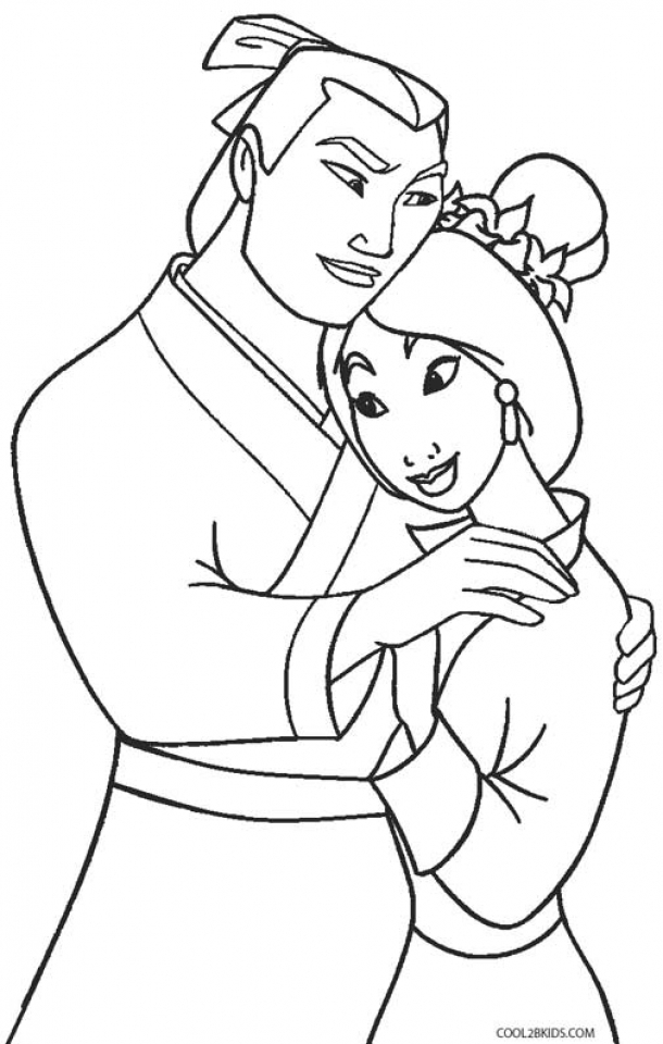 Get This Disney Princess Mulan Coloring Pages 454lz !