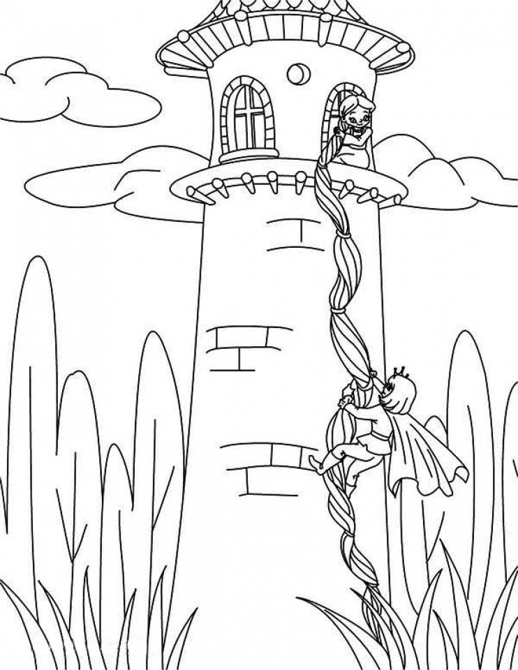 Disney fairy coloring pages for kids