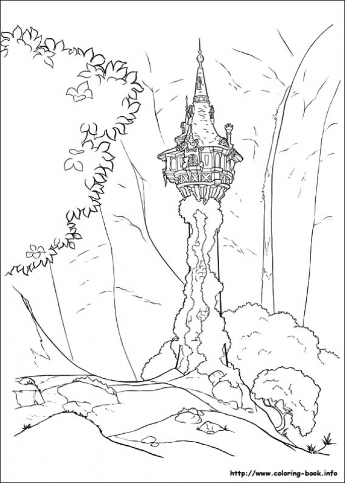 Disney Princess Rapunzel Coloring Pages   SY4BC