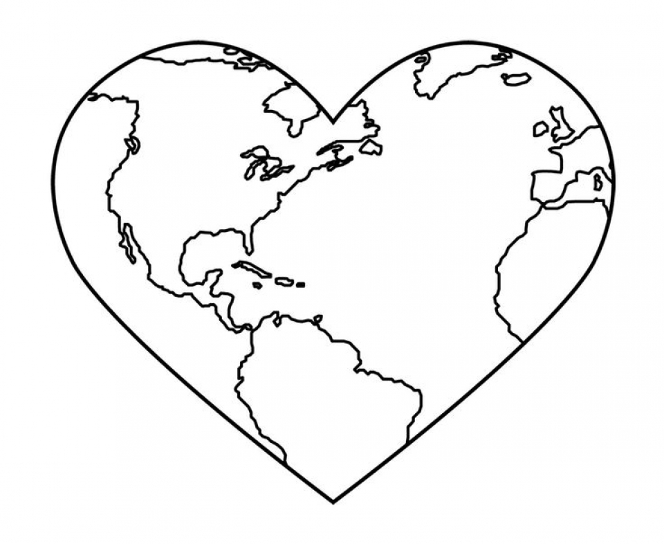 Get This Earth Coloring Pages Free Printable fyo100