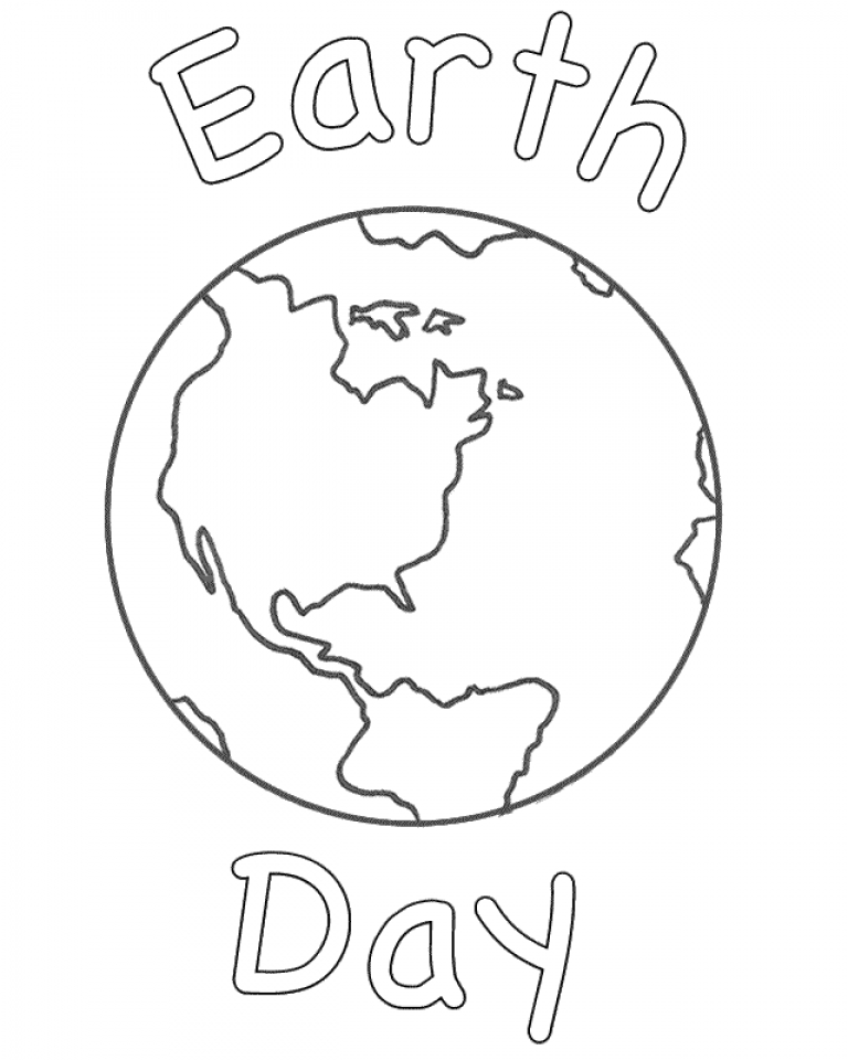 Get This Earth Coloring Pages Free Printable jcaj9