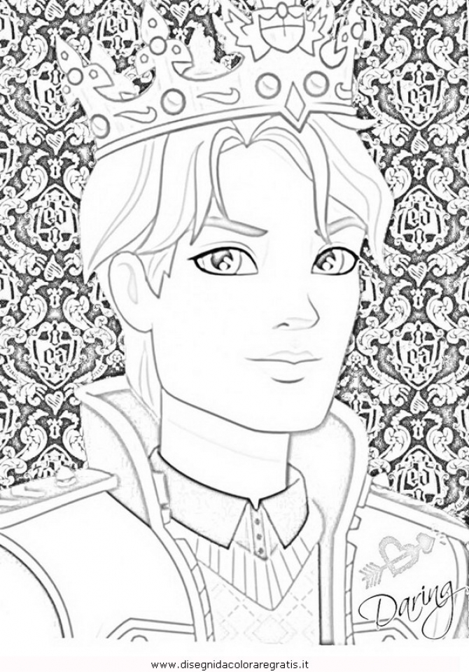Get This Ever After High Coloring Pages for Girls PLH43