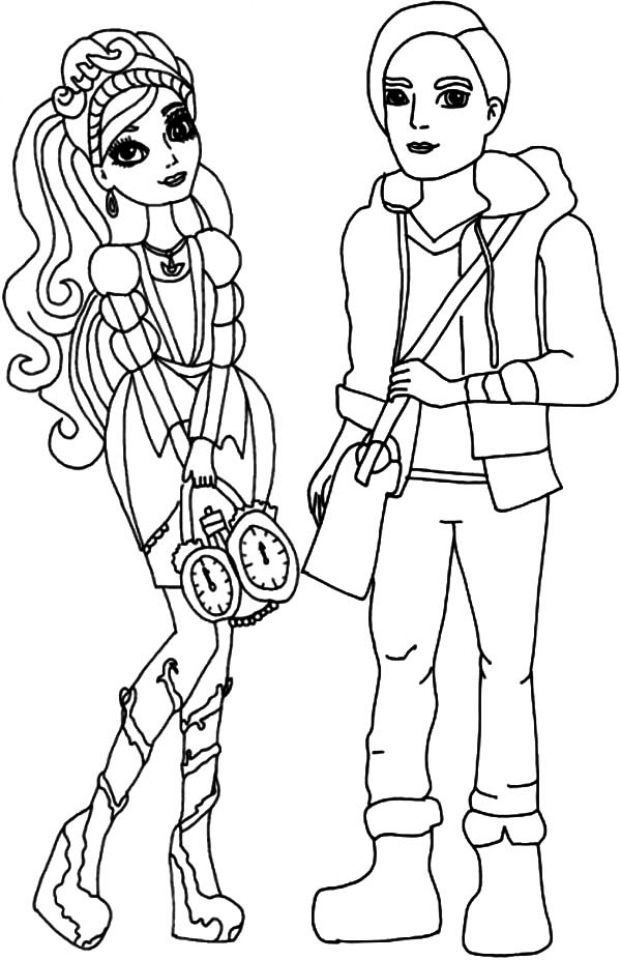 Get this ever after high coloring pages for girls tyu56 for Ever after high free coloring pages