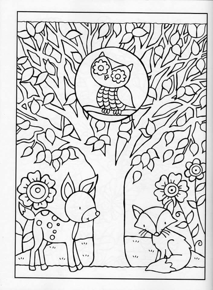 free autumn coloring pages for adults | Get This Fall Coloring Pages for Grown Ups Free Printable ...