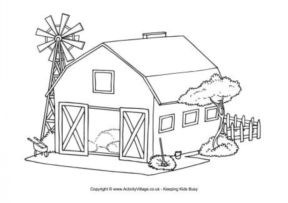 farm coloring pages free printable k2rww - Farm Coloring Pages