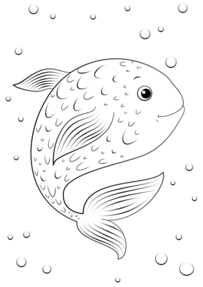 Get this printable lightning mcqueen coloring pages 808704 for Fish coloring pages free printable