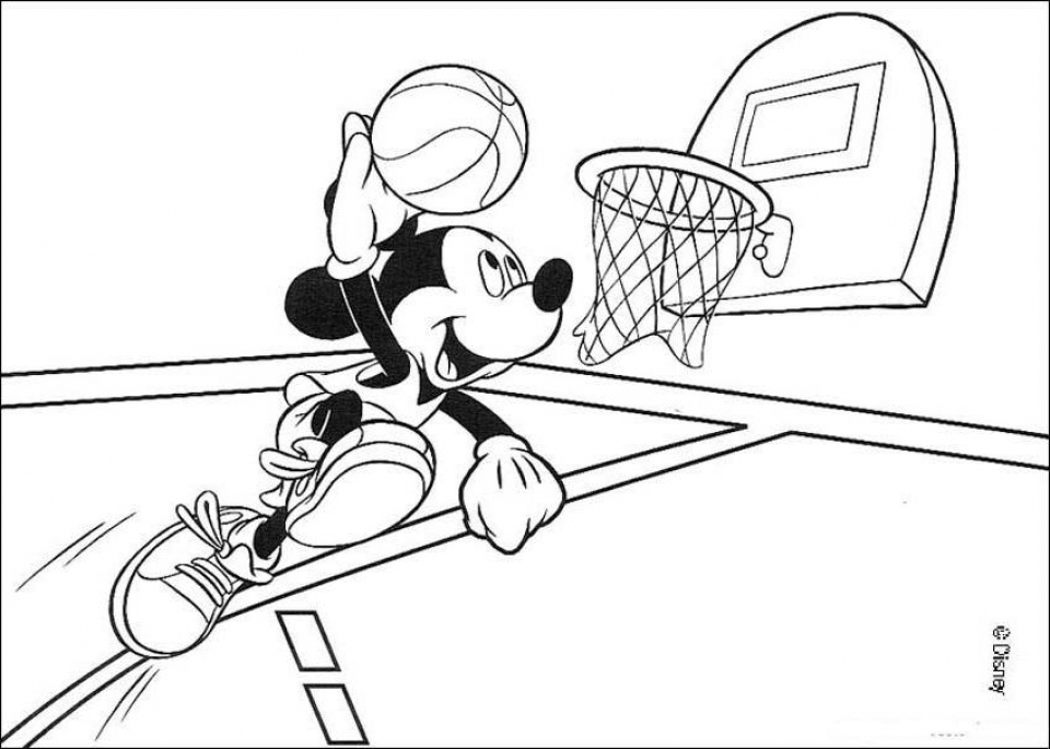 get this free basketball coloring pages to print 754991 ! - Basketball Coloring Pages Print