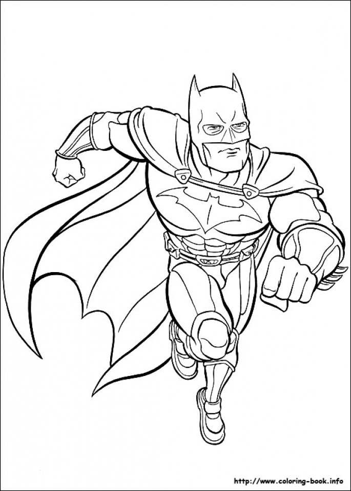 Get This Free Batman Coloring Pages