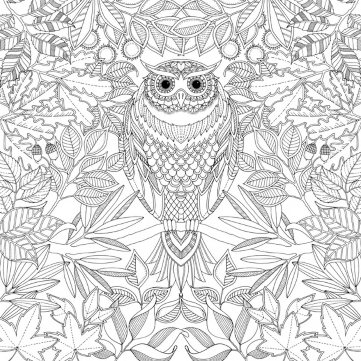 free complex coloring pages printable abxu2 - Complex Coloring Pages