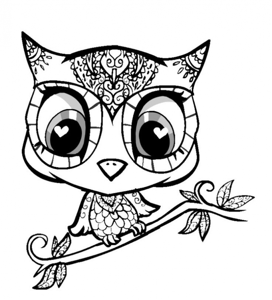 get this free cute coloring pages 34753