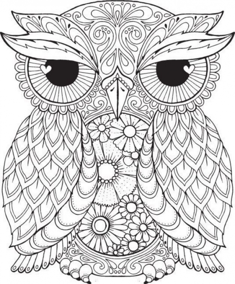 Get This Free Difficult Animals Coloring Pages for Grown Ups DSE398 !