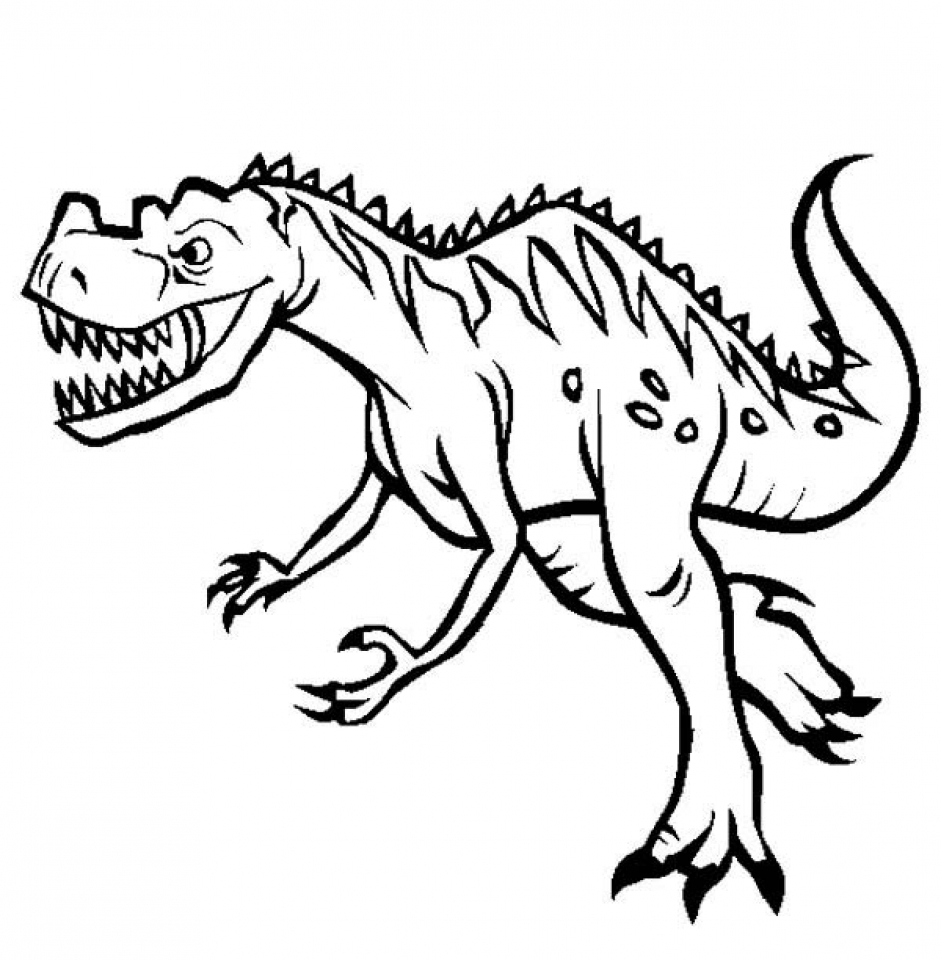 Get This Free Dinosaurs Coloring Pages To Print 6pyax
