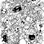 20+ Free Printable Doodle Art Coloring Pages for Adults ...