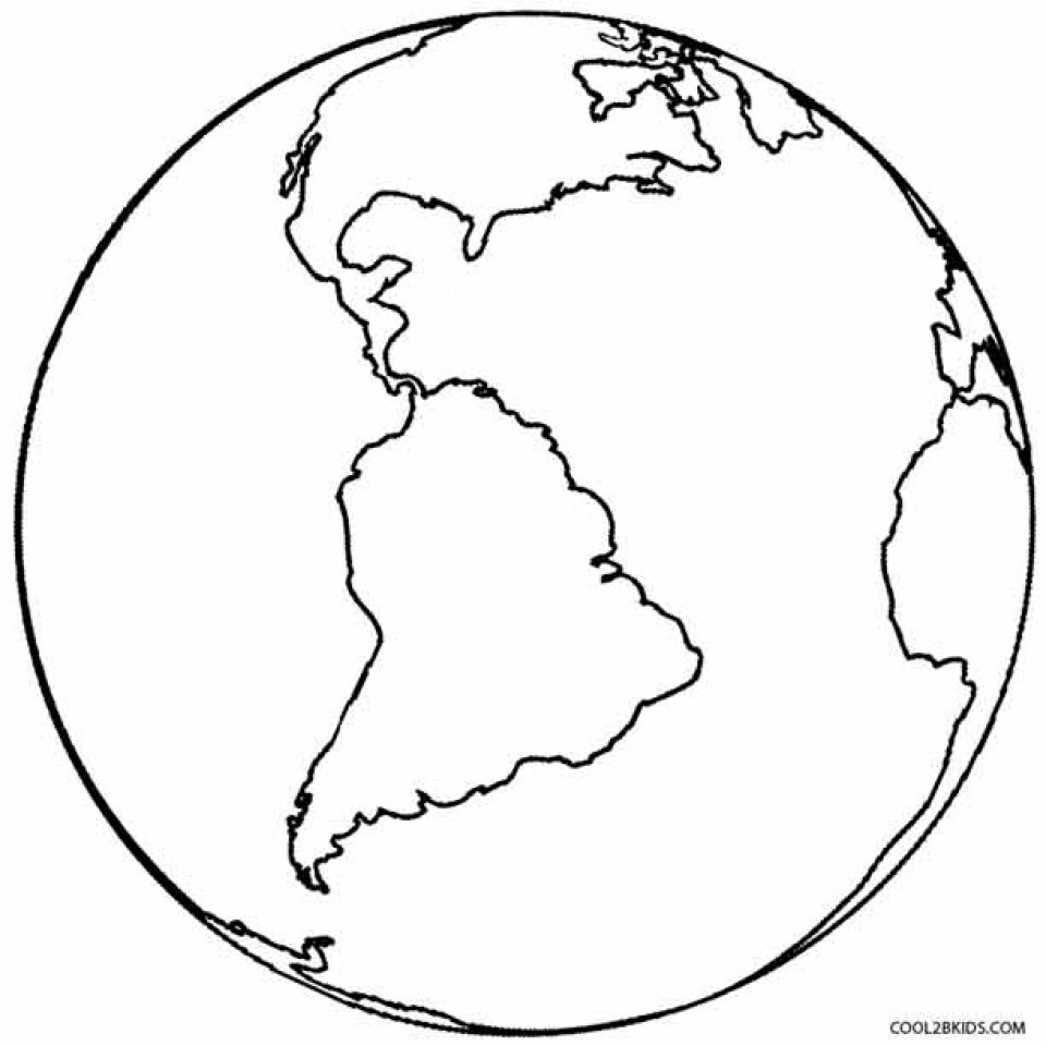Get This Free Earth Coloring Pages T29m7