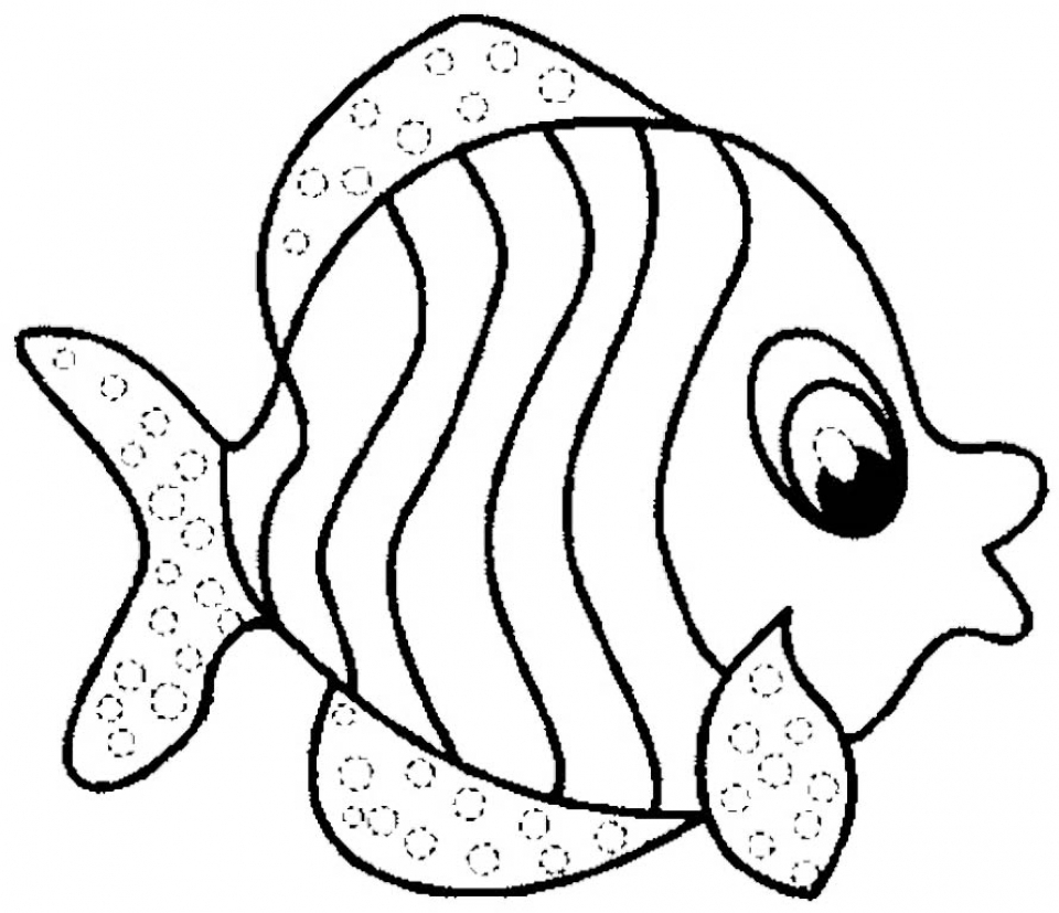 free fish coloring pages 119162