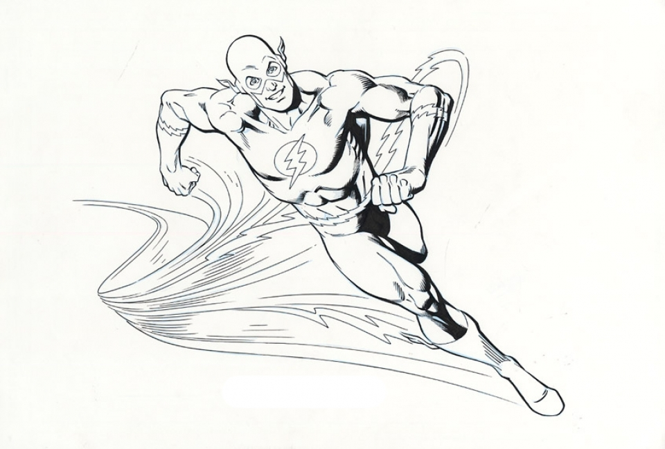 20+ Free Printable The Flash Coloring Pages ...