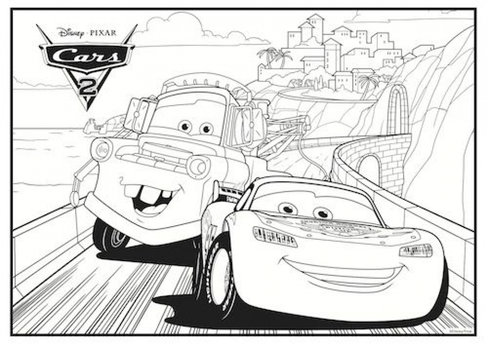 free lightning mcqueen coloring pages 467395 - Lightning Mcqueen Coloring Page
