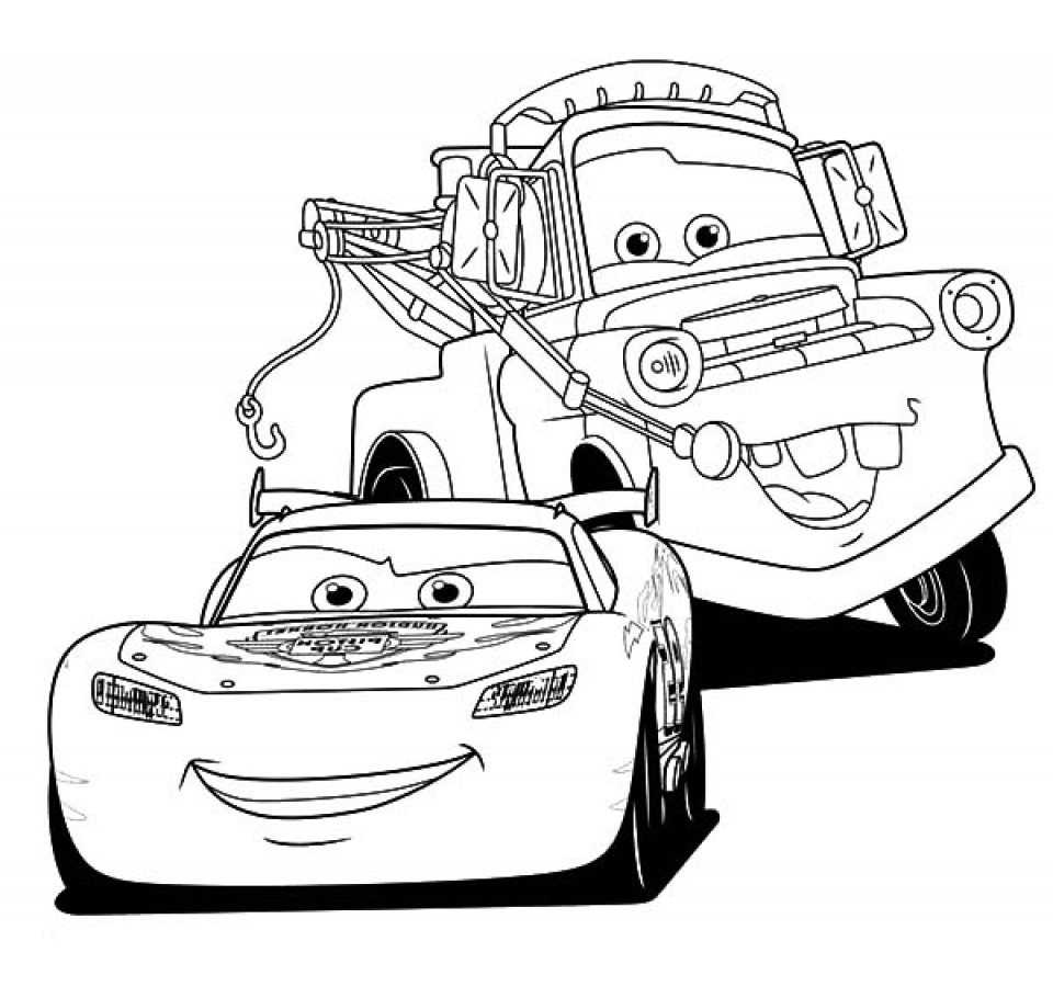 lightening mcqueen coloring pages - photo#7