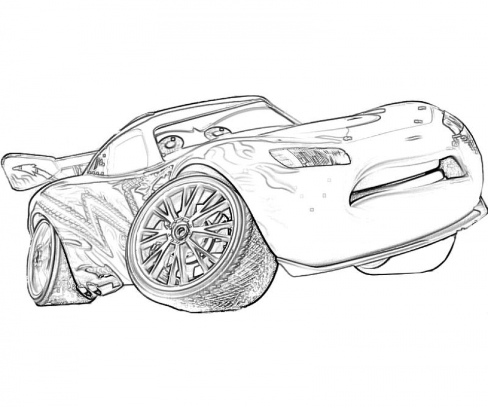 Get This Free Lightning McQueen Coloring Pages to Print