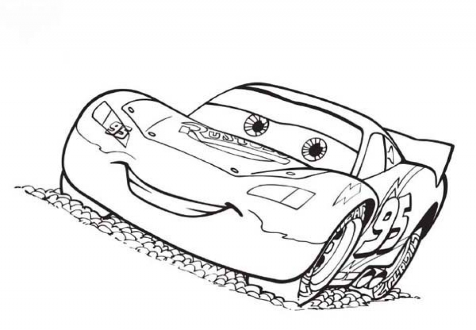 free lightning mcqueen coloring pages to print 993968
